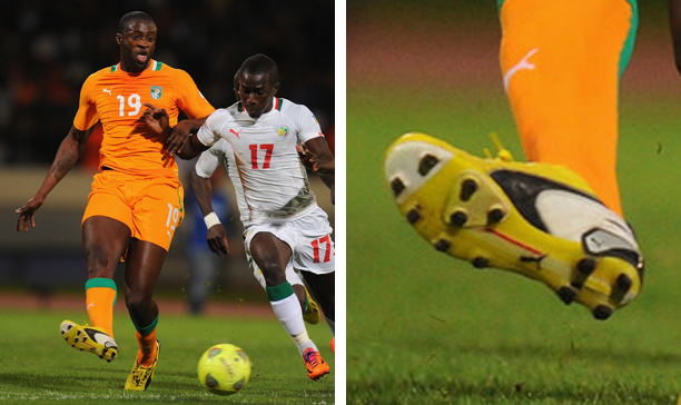 Yaya Toure Ivory Coast Puma King edited