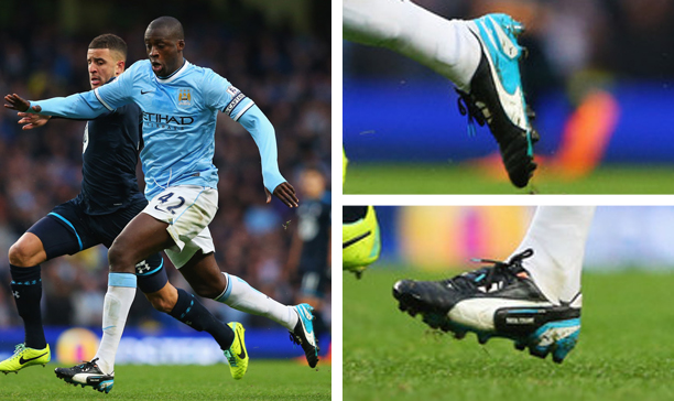 Yaya Toure Manchester City Puma King edited