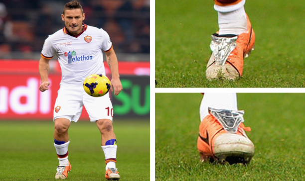 Francesco Totti Roma custom Tiempo V edited