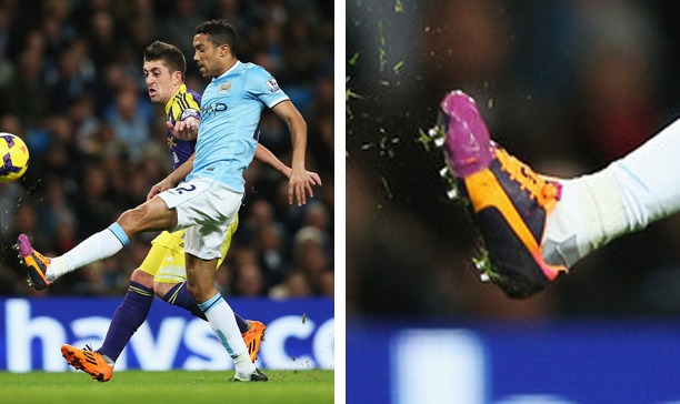 Gael Clichy Manchester City Puma evoSPEED edited