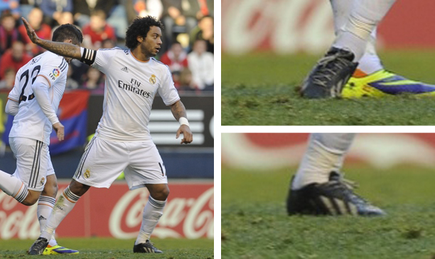 Marcelo Real Madrid enlightened adiZero edited