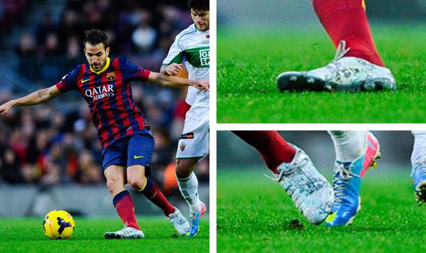 Cesc Fabregas Barcelona Puma evoPOWER Camo edited