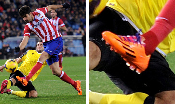 Diego Costa Athletico Madrid F50 adiZero edited