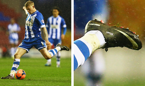 James McClean Wigan Vapor IX edited