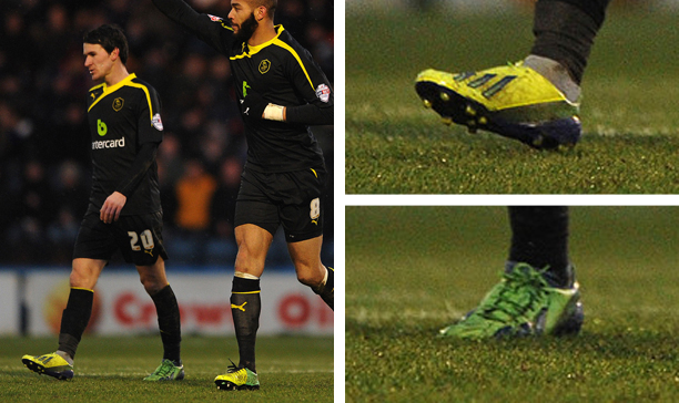 Kieran Lee Sheffield Wednesday double F50 adiZero edited