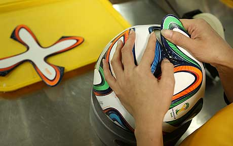 Making of adidas Brazuca