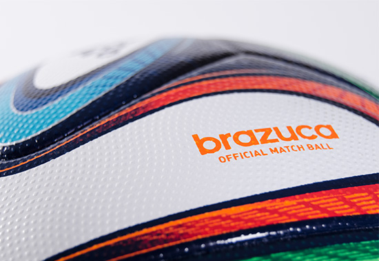 Closeup of Brazuca