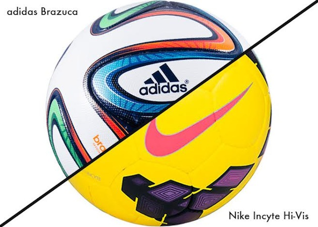 nike vs adidas soccer balls