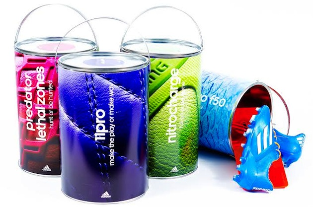 Samba Pack paint cans