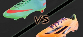 F50 adiZero vs. Mercurial Vapor: Round One