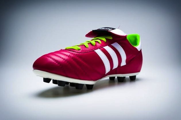 ce36172f The Iconic Adidas Copa Mundial Gets a Samba Color-Up - The Instep