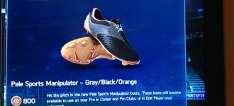 Pele Sports Leak New Boot on FIFA14?