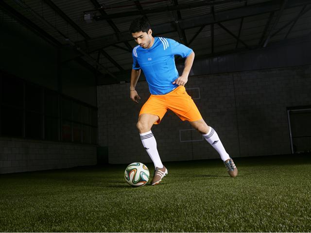 Luis Suarez in Primeknit