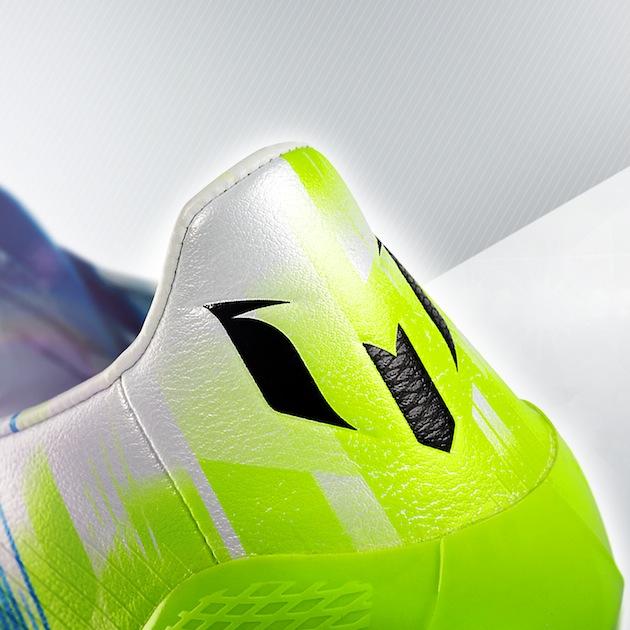 Messi F50 heel