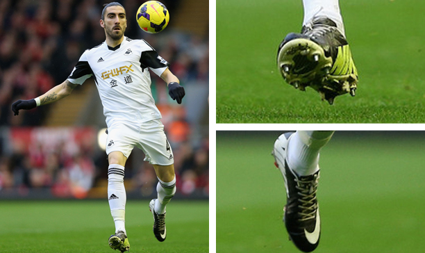 Chico Flores Swansea double Mercurial edited