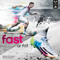 Messi Makes Speed Colorful with His New adidas F50 adiZero