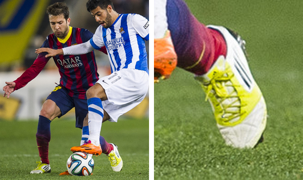 Jordi Alba Barcelona adidas F50 adiZero edited