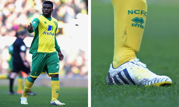 Joseph Yobo Norwich City adidas Predator Incurza edited