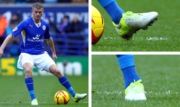 Paul Konchesky Leicester custom CTR360 Trequartista edited