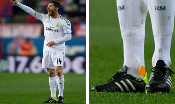 Xabi Alonso Real Madrid adiPure 11Pro edited