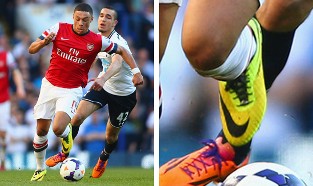 Alex Oxlade-Chamberlain Arsenal Hypervenom Phantom edited
