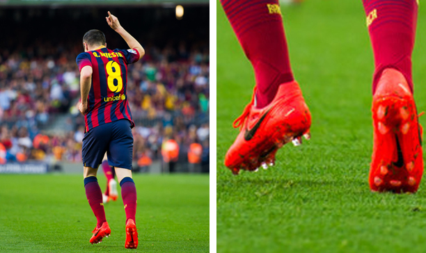 Andreas Iniesta Barcelona Nike CTR360  edited