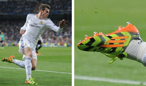 Gareth Bale Real Madrid F50 Crazylight edited