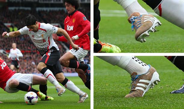 Luis Suarez Liverpool adidas Primeknit edited
