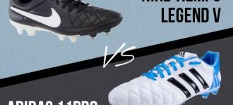 Nike Tiempo V vs Adidas adiPure 11Pro: Round Two