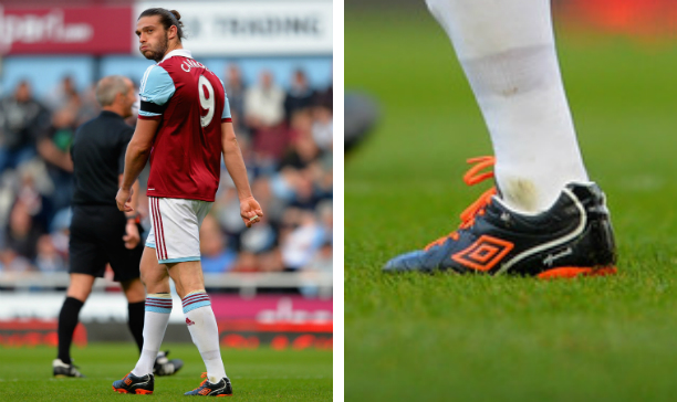 Andy Carroll West Ham Umbro Speciali IV edited