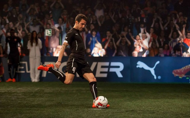 Fabregas with evoPower ball