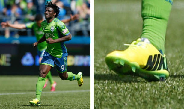Obafemi Martins Seattle Sounders Vapor IX edited