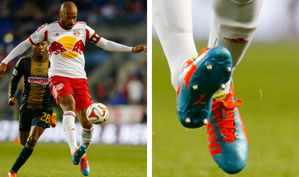 Thierry Henry New York Red Bulls evoSPEED edited