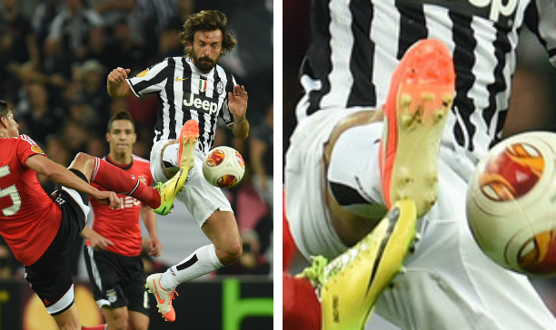 Andrea Pirlo Juventus Nike Tiempo V edited