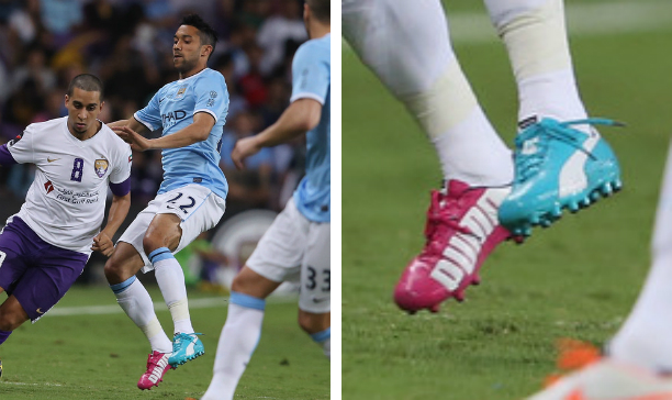 Gael Clichy Manchester City Puma evoSPEED Tricks edited