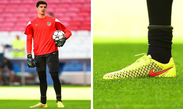 Thibaut Courtois Athletico Madrid Magista Opus edited