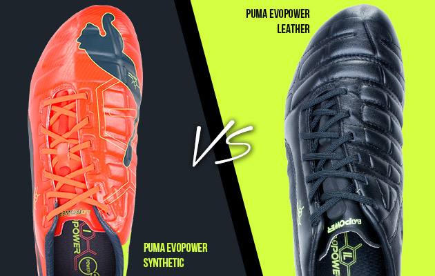 Puma evopower comparison