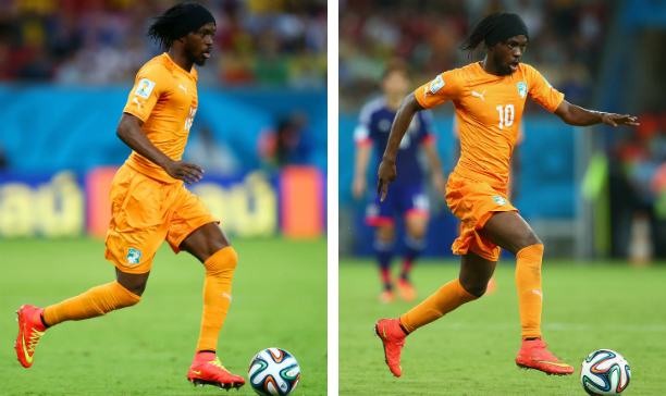 Gervinho Ivory Coast edited