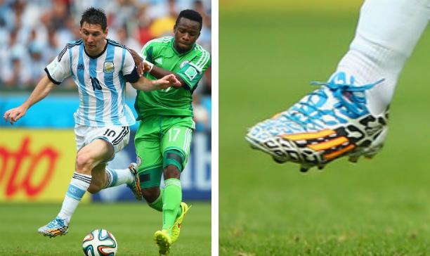 Lionel Messi Argentina F50 adiZero edited