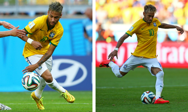 Neymar Brazil double HV edited