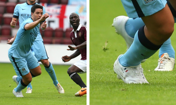 Samir Nasri Manchester City whiteout Superheat