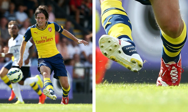 Tomas Rosicky Arsenal evoPOWER edited