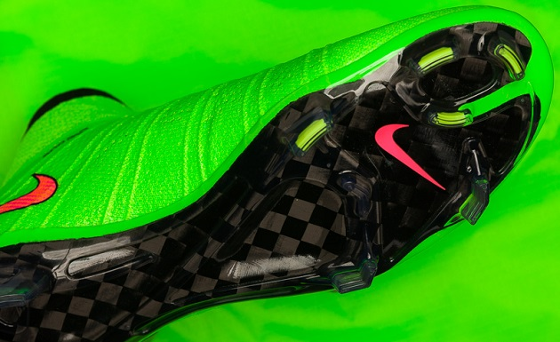 Green Superfly outsole