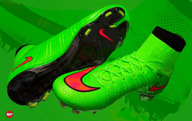reputable site 0aaf2 591a3 Nike Mercurial Superfly Electric Green