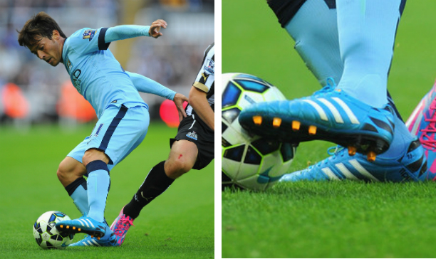 David Silva Manchester City adiPure 11Pro edited
