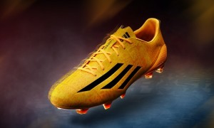 Messi's adidas F50 adiZero Goes Solar Gold