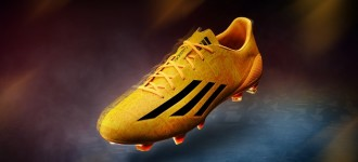 Messi's adidas F50 adiZero Goes Solar Gold