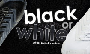 adidas Black and White Predator Instinct: Livin' in Perfect Harmony