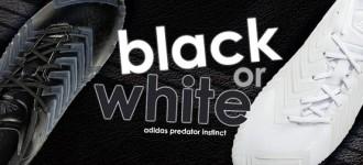 adidas Black and White Predator Instinct: Livin' in Perfect Harmony