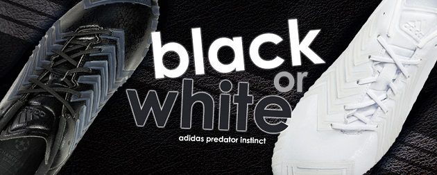 Marketing for black/white Predator Instinct